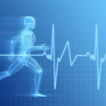 Running-skeleton-and-EKG